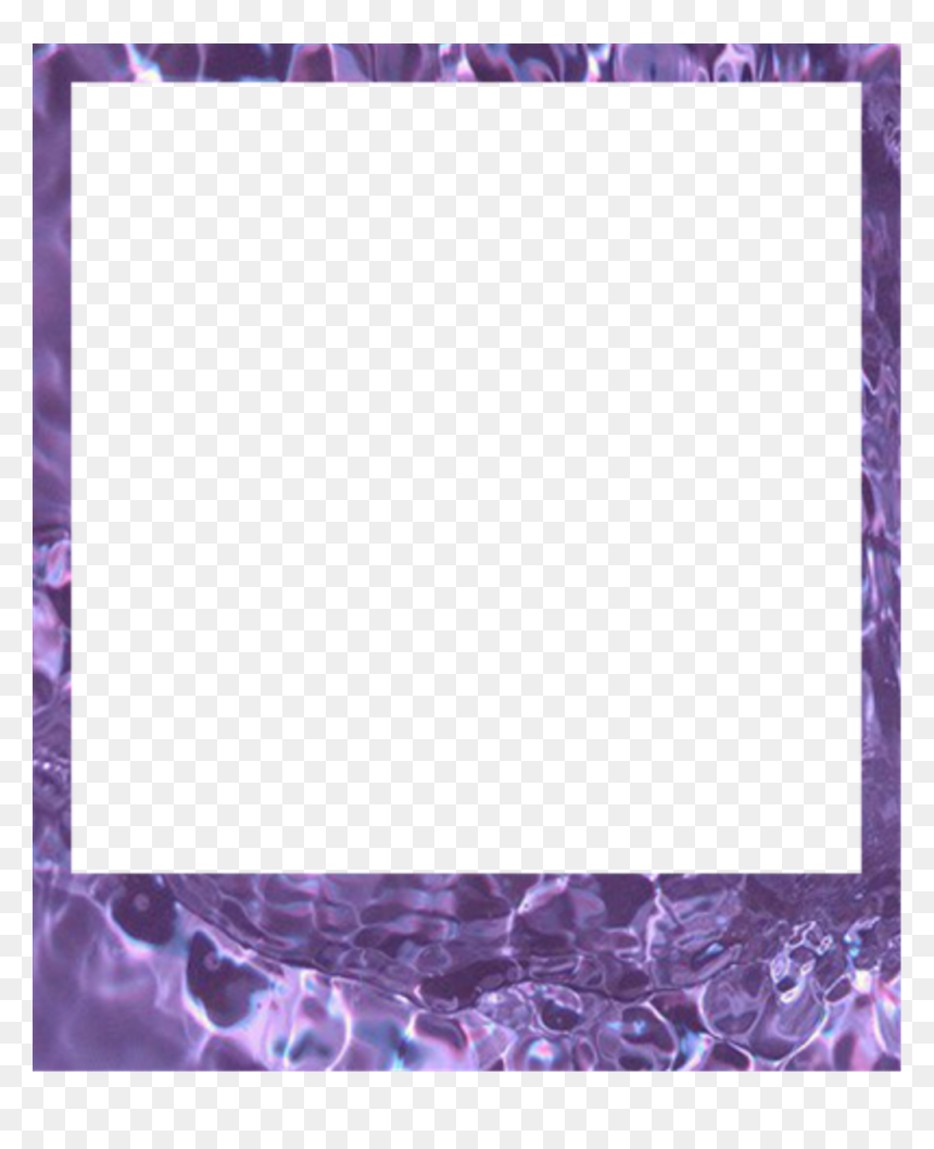 Aesthetic Transparent Polaroid Frame Png, Png Download