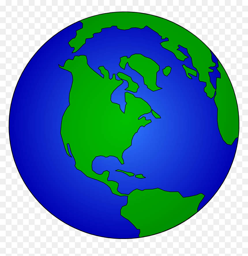 Globe Clipart, HD Png Download