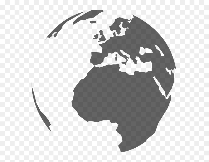 Round World Map Png, Transparent Png