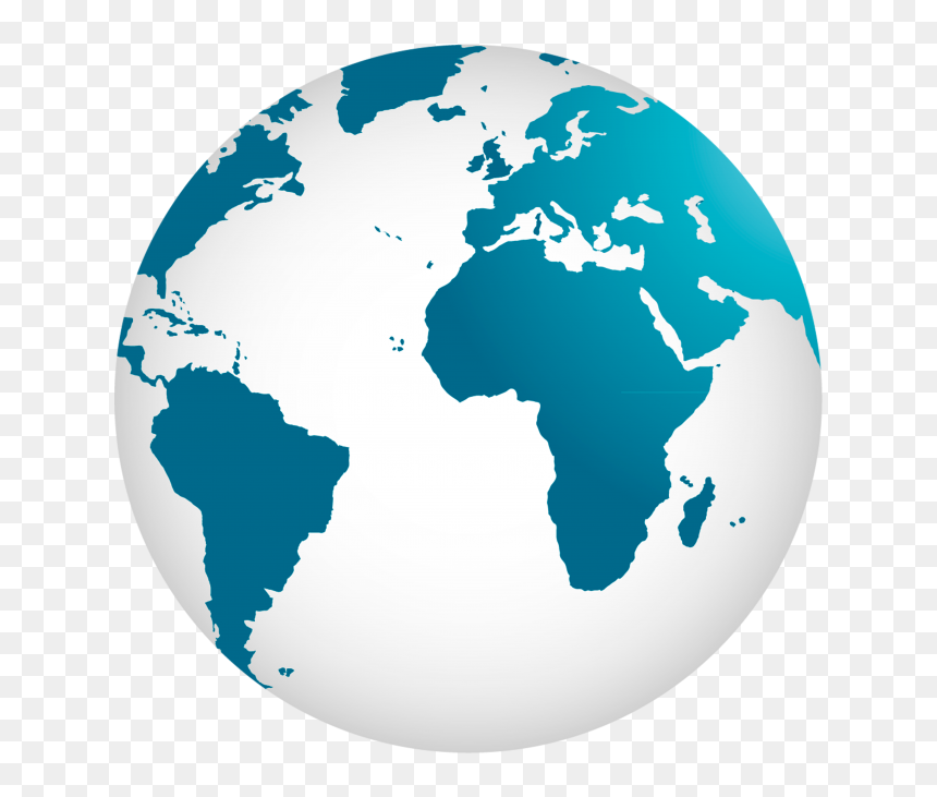 World Globe Map Png, Transparent Png