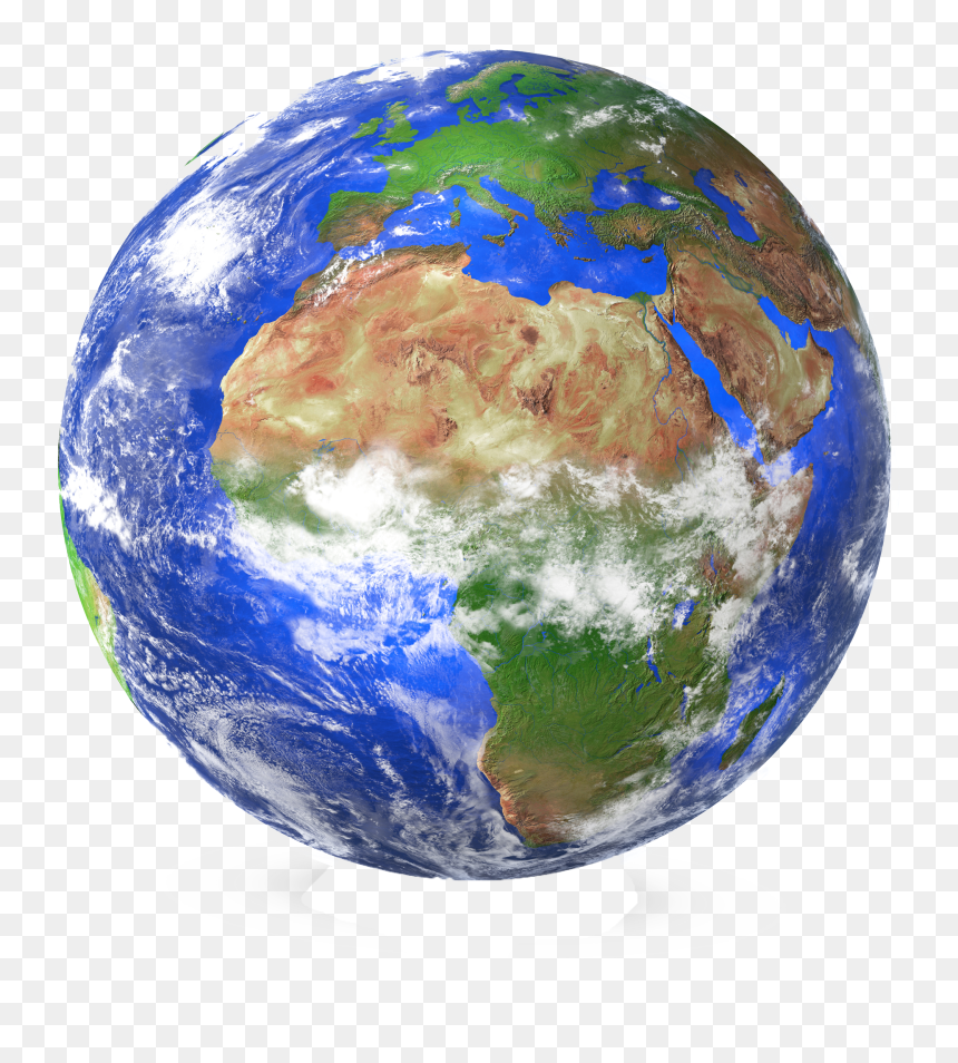 Transparent Background Earth Globe, HD Png Download