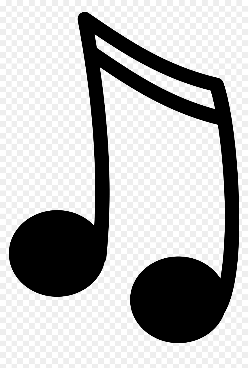 Music Note Clipart Png, Transparent Png