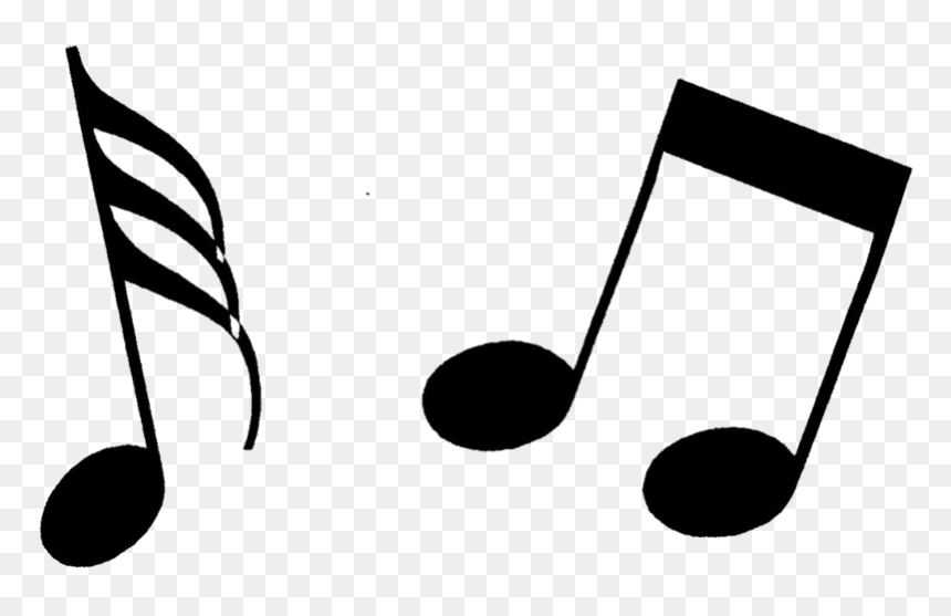 Music Notes Clipart, HD Png Download