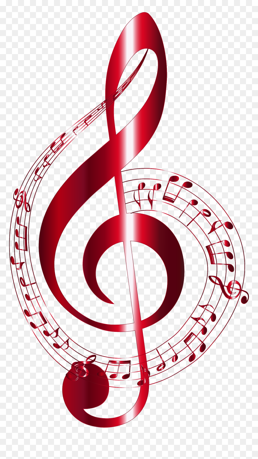 Transparent Background Music Notes, HD Png Download