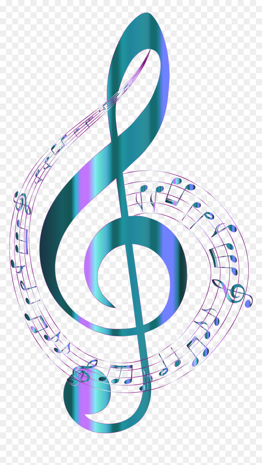 Transparent Background Music Note Png, Png Download