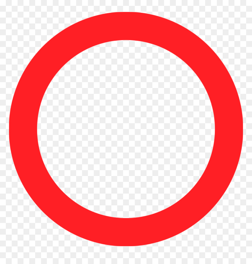 Red Circle Logo Template, HD Png Download