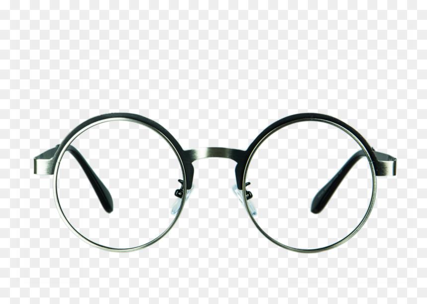 Circle Glasses Transparent Png, Png Download