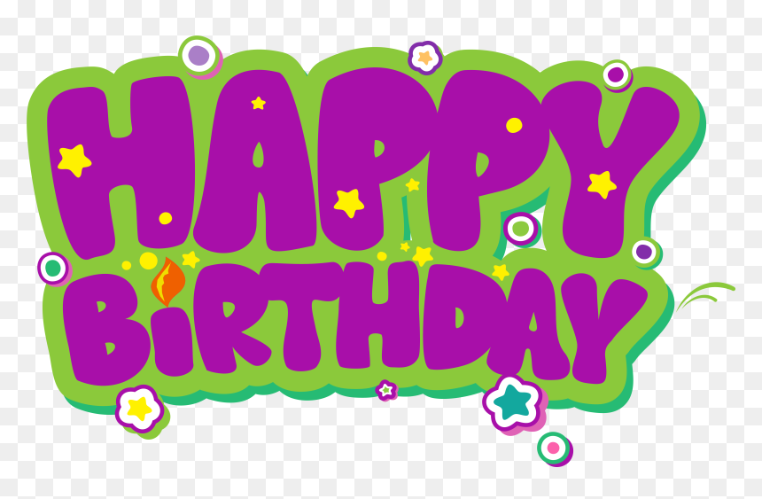 Happy Birthday High Resolution, HD Png Download