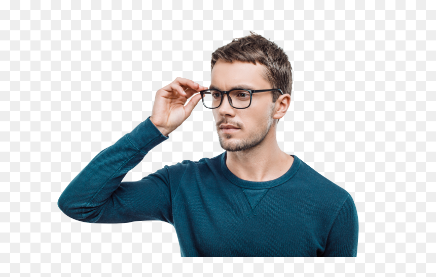 Man With Glasses Png, Transparent Png
