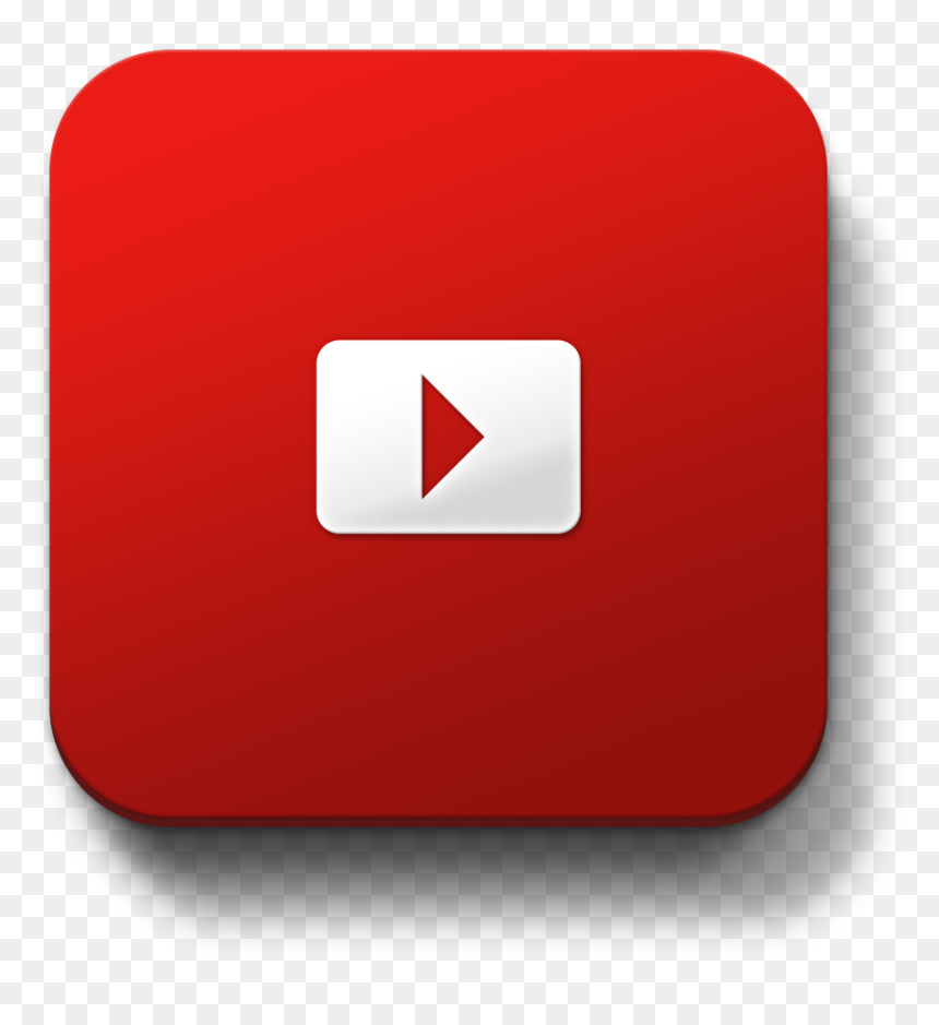 Youtube Subscribe Button Square Png, Transparent Png