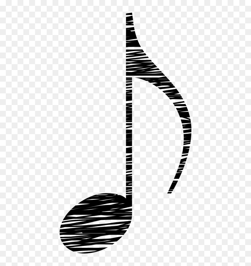 Vintage Music Notes Clipart, HD Png Download
