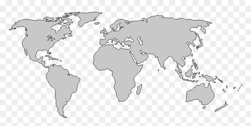World Map Download Png, Transparent Png