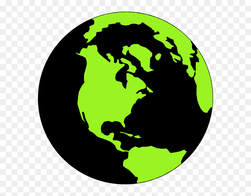 World Map Round Png, Transparent Png