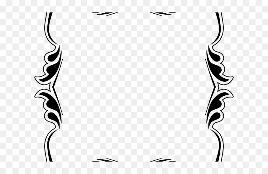 Bingkai Keren Hitam Putih, HD Png Download