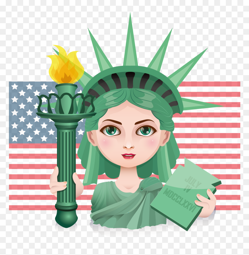 Dibujos De La Estatua De La Libertad, HD Png Download