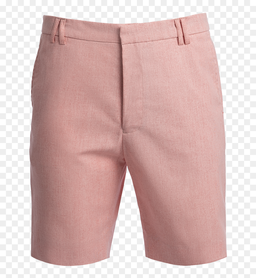 """Tabs Conch Shell Pink Cotton Linen Bermuda Shorts""""  - Board Short, HD Png Download"""