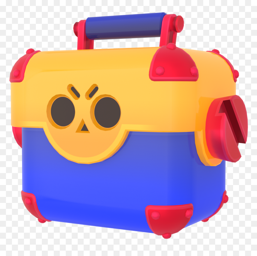 Transparent Loot Box Png - Mega Box Brawl Stars, Png Download