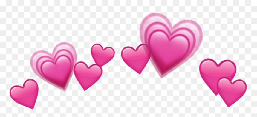 Transparent Emoji Tumblr Png - Blue Hearts Crown Png, Png Download
