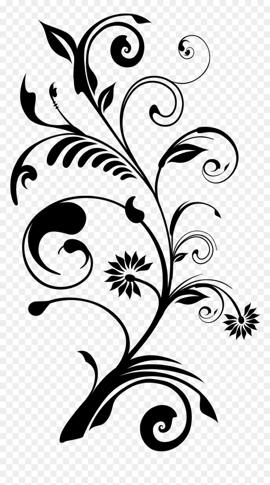 Flower Floral Design Desktop Wallpaper - Download Vektor Bunga Png, Transparent Png