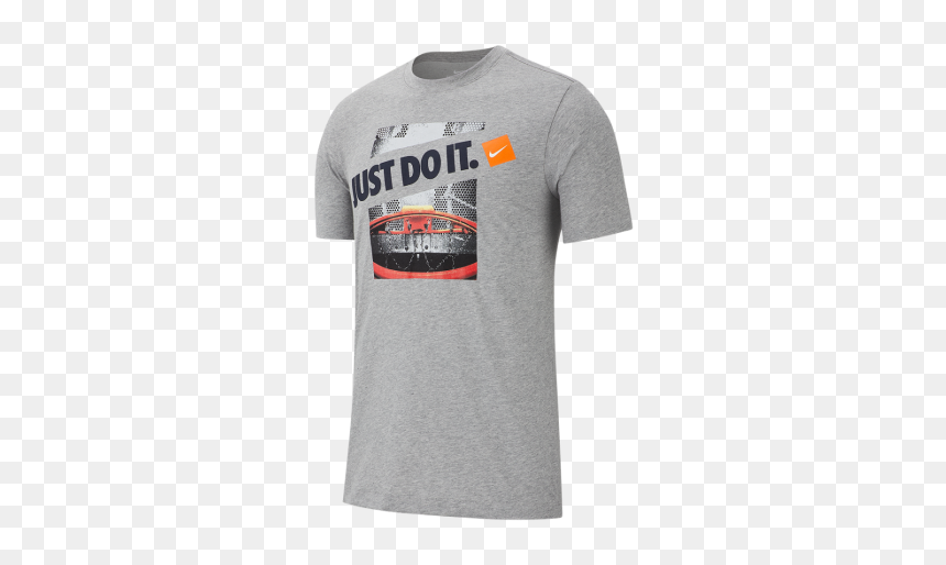 Nike Just Do It T Shirt Basketball, HD Png Download