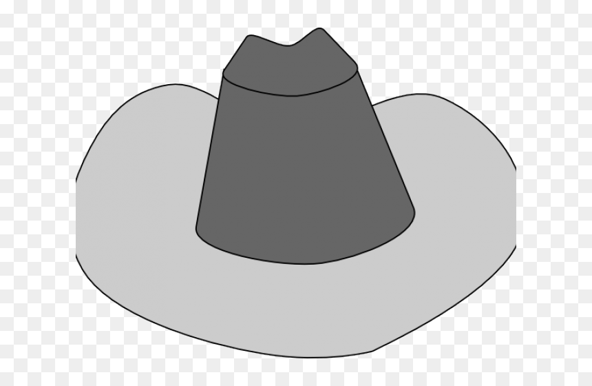 Transparent Cowboy Hat Clipart Png - ภาพ วาด หมวก ปีก, Png Download