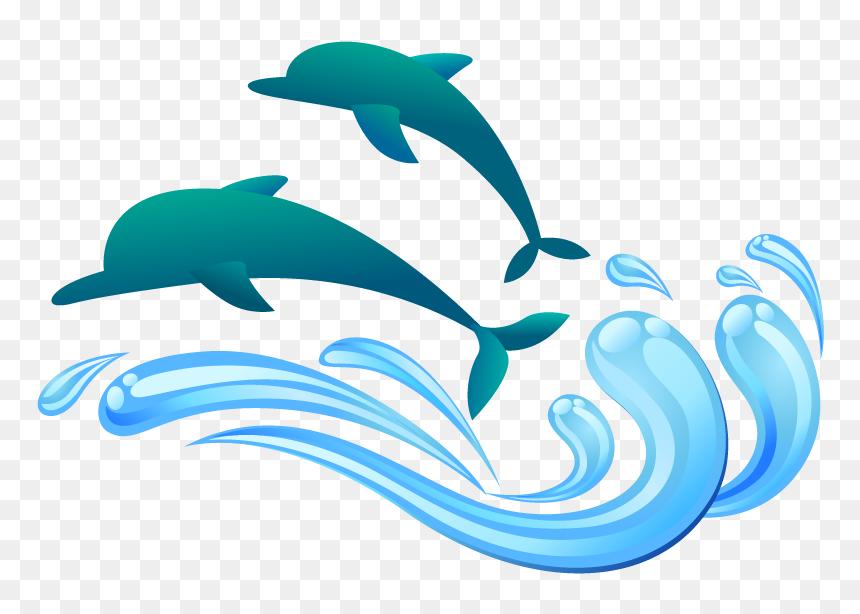 Drop Symbol Clip Art - รูป โลมา ฟรี Png, Transparent Png