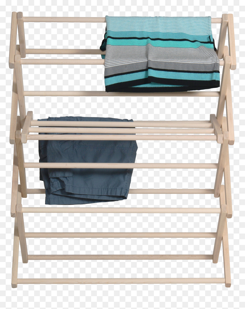 Pennsylvania Woodworks Medium Wooden Clothes Drying - Clothes Drying Rack Png, Transparent Png