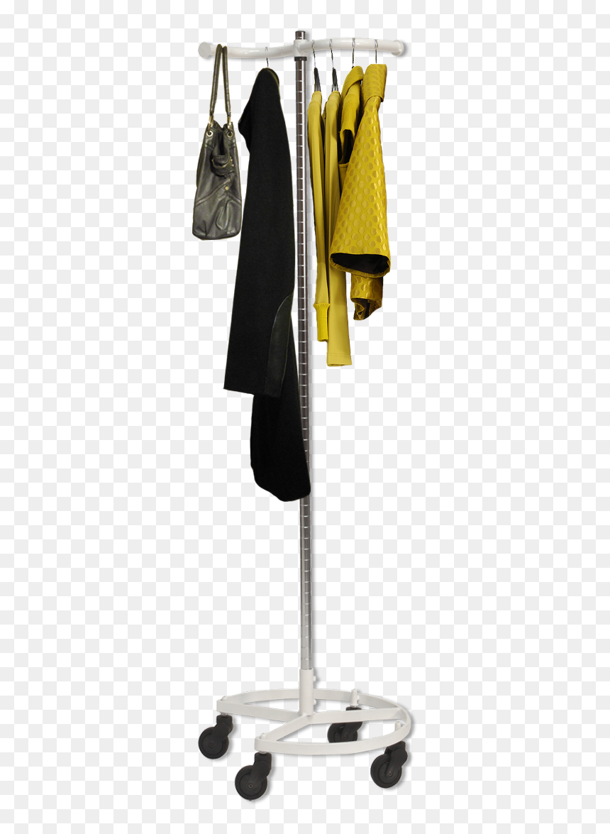 Personal Valet Clothing Rack By Rack Stack And Roll - Clothes On Rack Transparent Png, Png Download