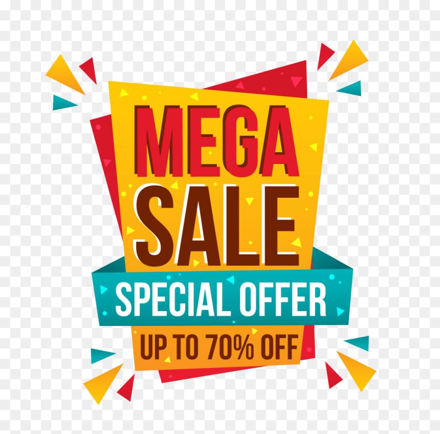 Big Sale Promotion Png Image - Big Sale Offer Png, Transparent Png