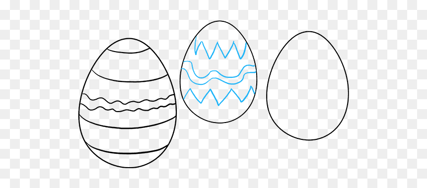 Easter Eggs How To Draw Hd Png Download 680x678 Png Dlf Pt