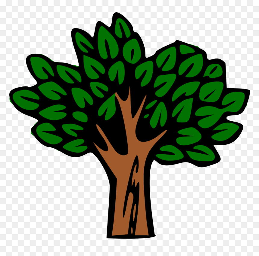 Tropical Rainforest Trees Clipart, HD Png Download ...