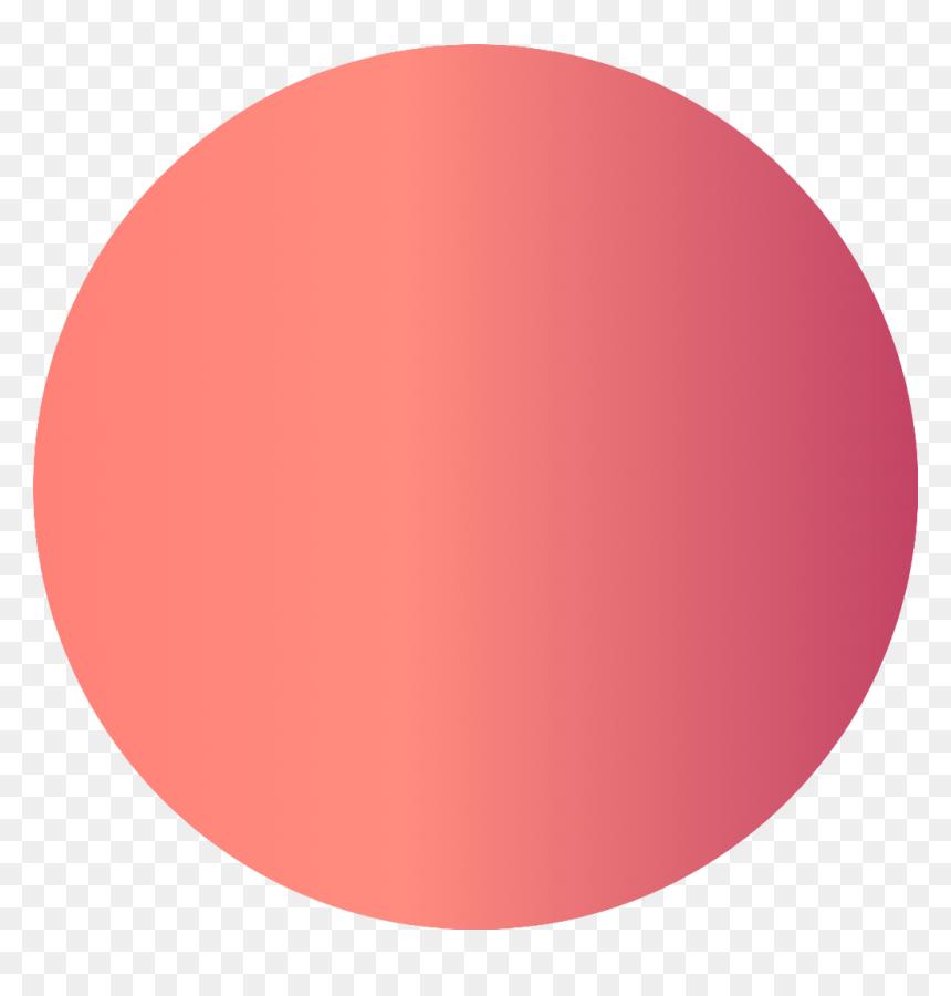 ✨ - Red Gradient Circle Png, Transparent Png