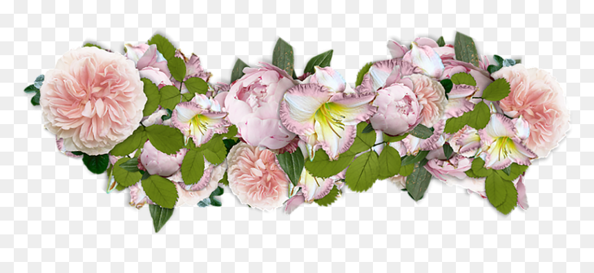 Thumb Image - Line Of Flowers Transparent, HD Png Download