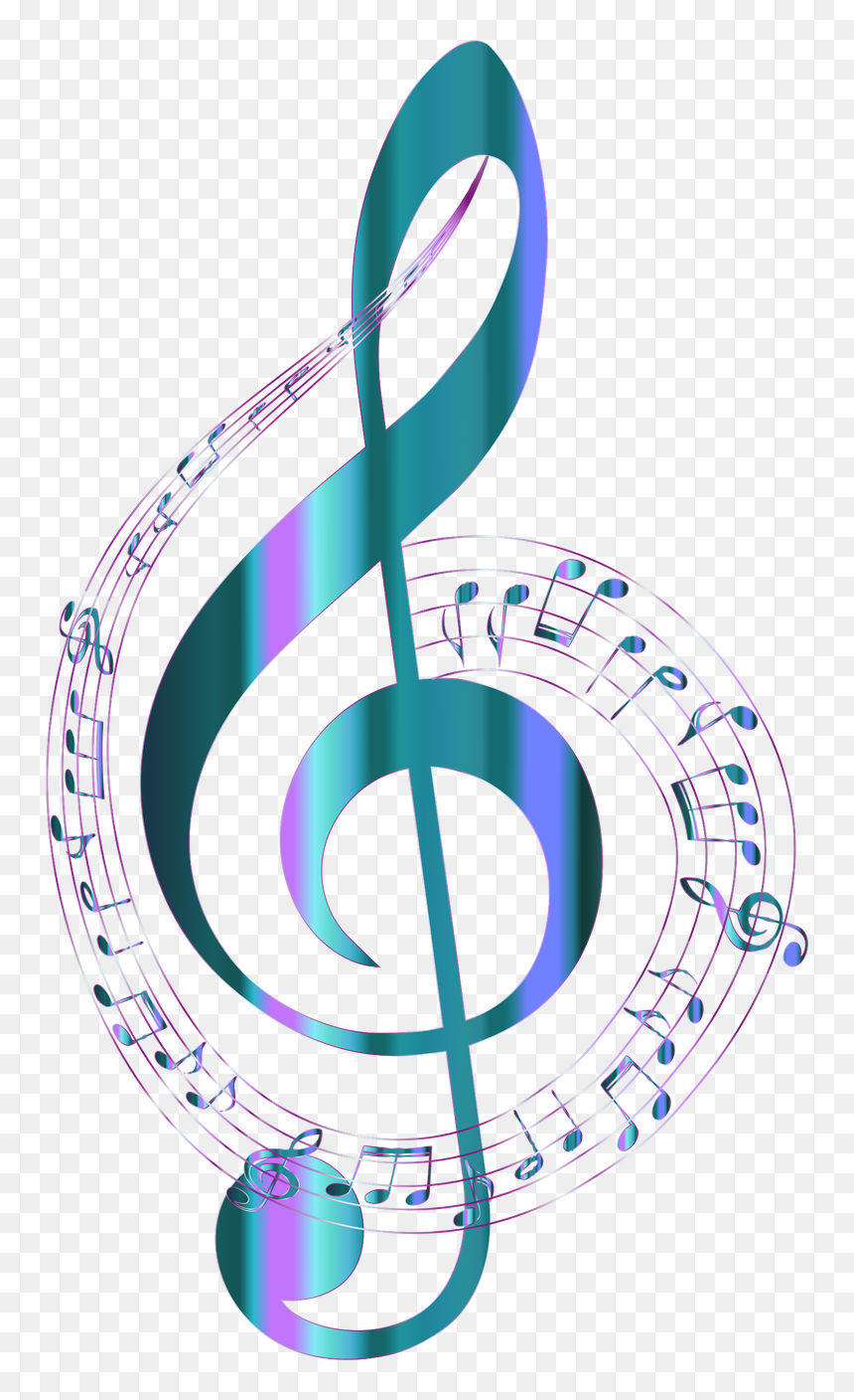 Symbol,body Jewelry,circle - Transparent Background Music Notes, HD Png Download
