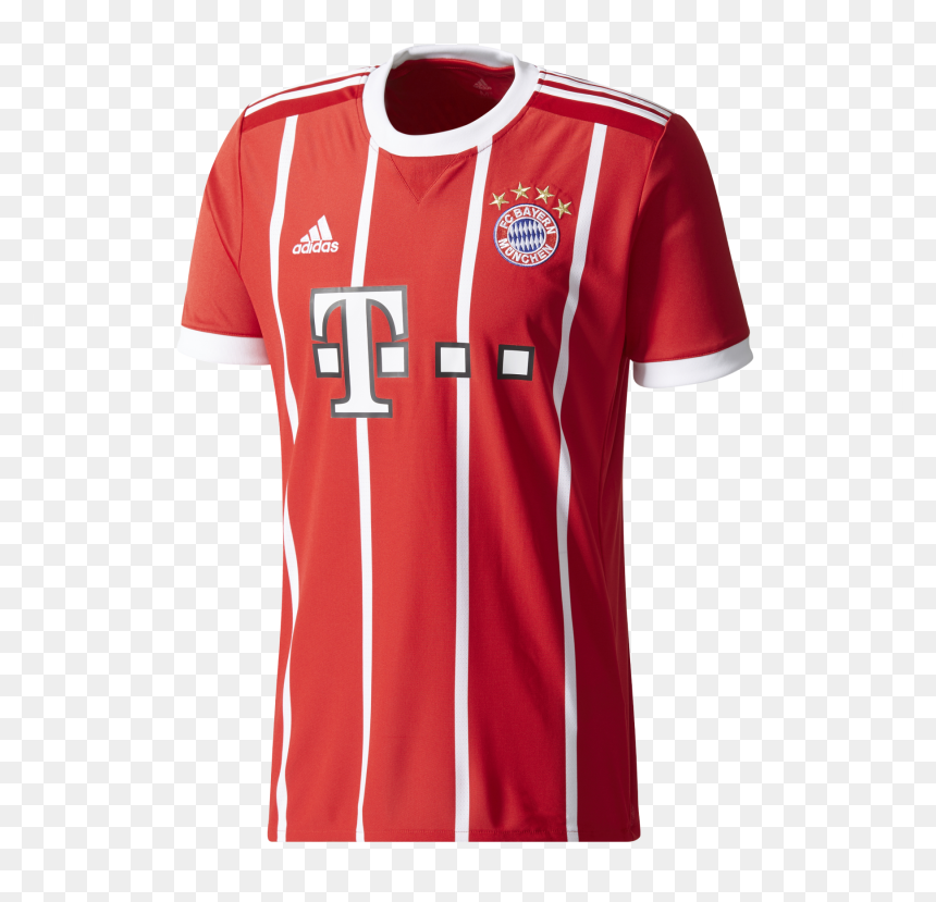 "Bayern Munich 17/18 Home Jersey""  Title=""bayern Munich - Bayern Munich Jersey 2017 18, HD Png Download"