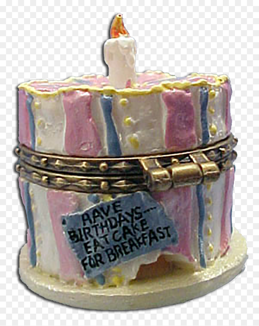 """1st Edition Boyds Uncle Beans Treasure Box Bailey""""s - Birthday Cake, HD Png Download"""