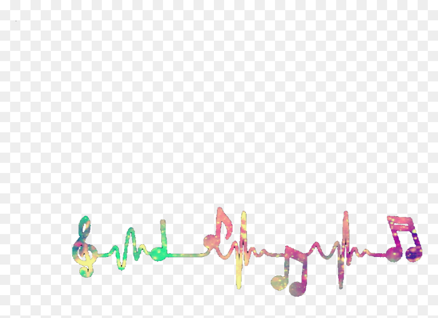 Transparent Colorful Musical Notes Clipart - Colorful Music Notes Png, Png Download