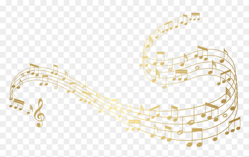Notes Clipart Image Gallery - Clear Background Music Notes Png, Transparent Png