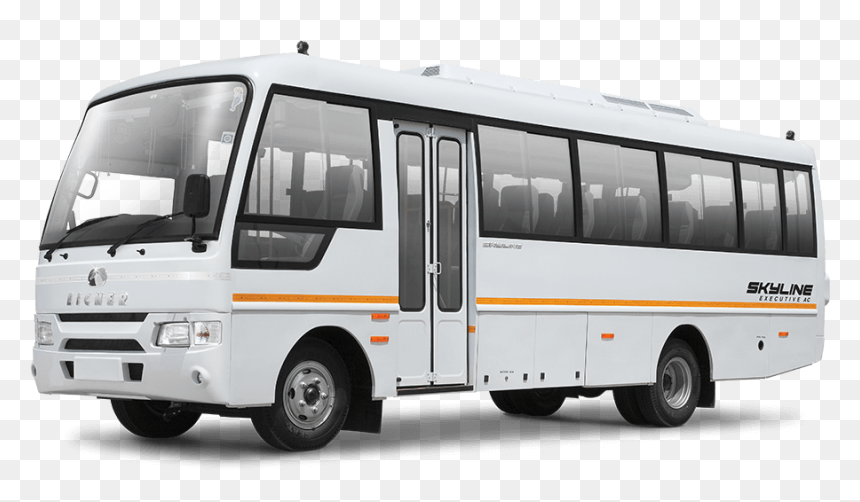 Eicher Skyline Bus 32 Seater, HD Png Download