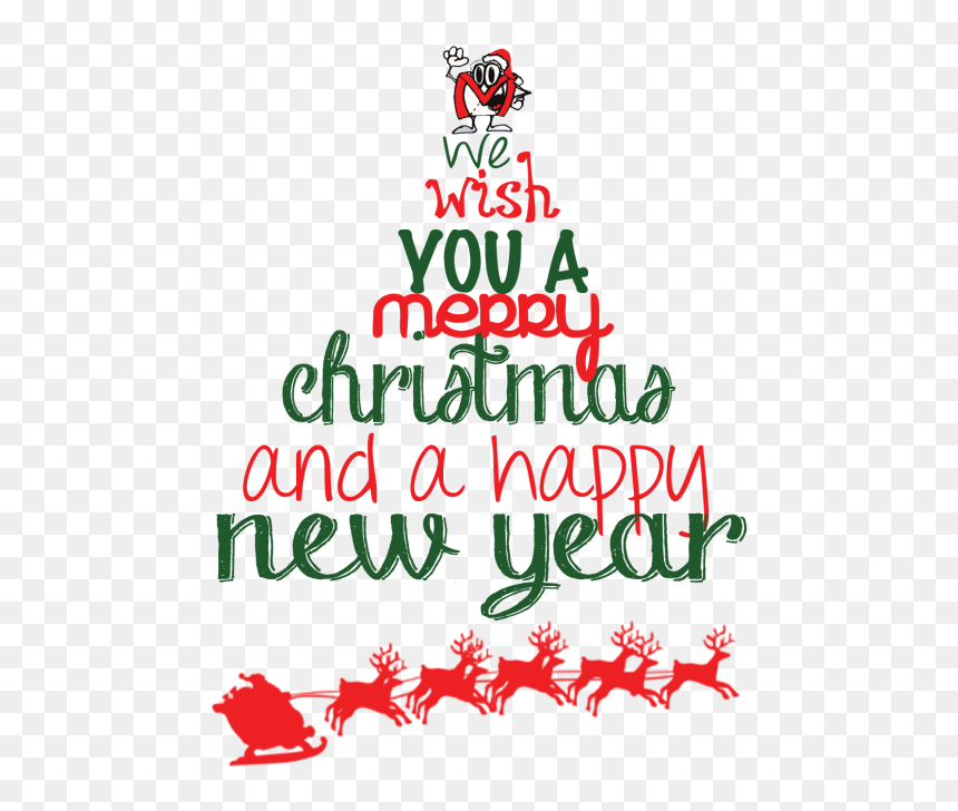 Transparent Christmas New Years Clipart Merry Christmas Happy New Year Png Png Download 483x648 Png Dlf Pt