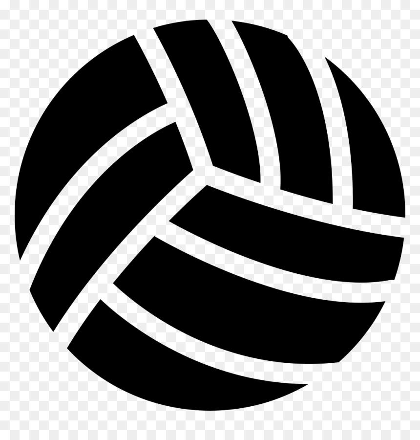 Volleyball - Bola Voli Hitam Putih, HD Png Download