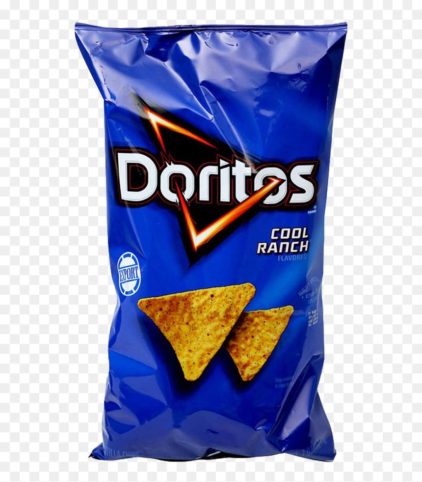 Doritos Clipart - Doritos Cool Ranch Tortilla Chips - Free Transparent PNG  Clipart Images Download
