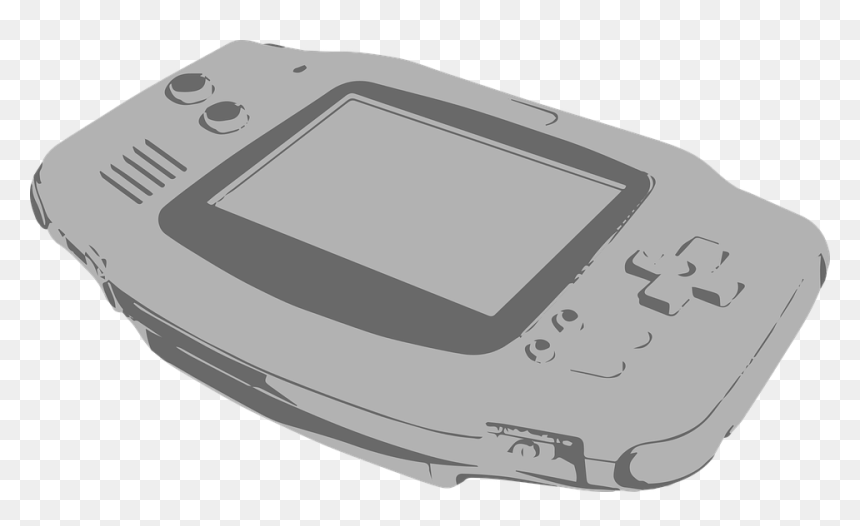 Nintendo Gameboy Advance, Gameboy Advance, Gameboy - Game Boy Advance Vector, HD Png Download