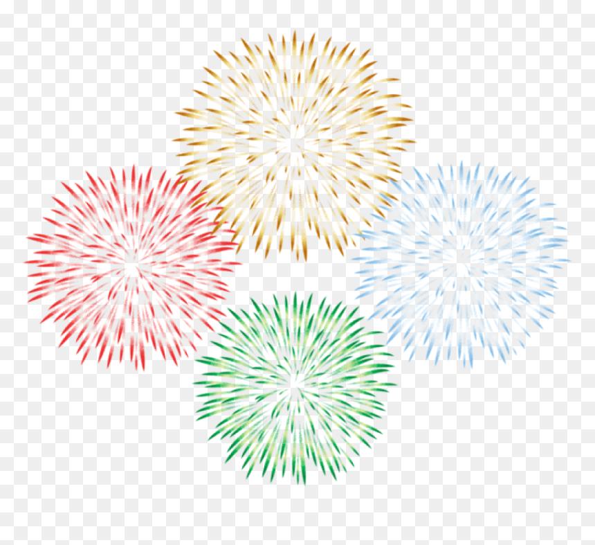 Fireworks Transparent Png - Transparent Background Firework Clipart, Png Download