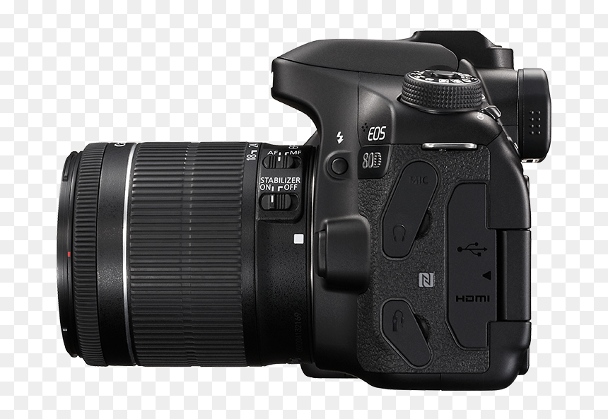 Canon 80d Kit 18 55, HD Png Download