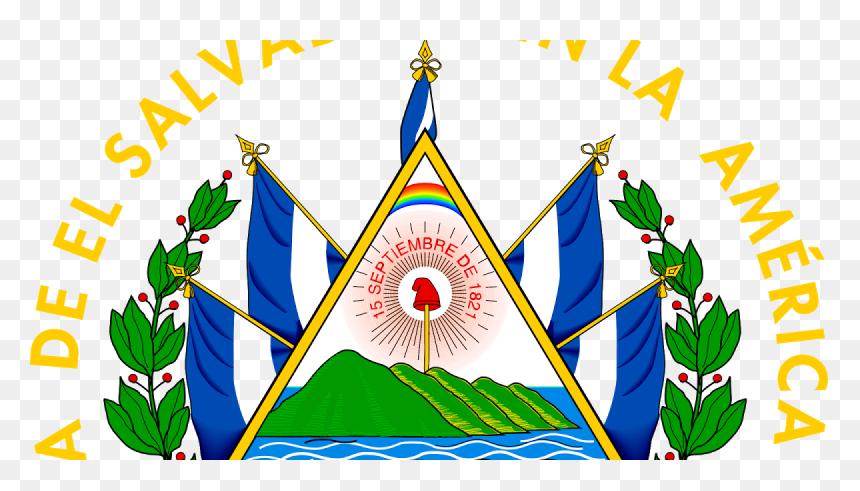 El Salvador Coat Of Arms, HD Png Download