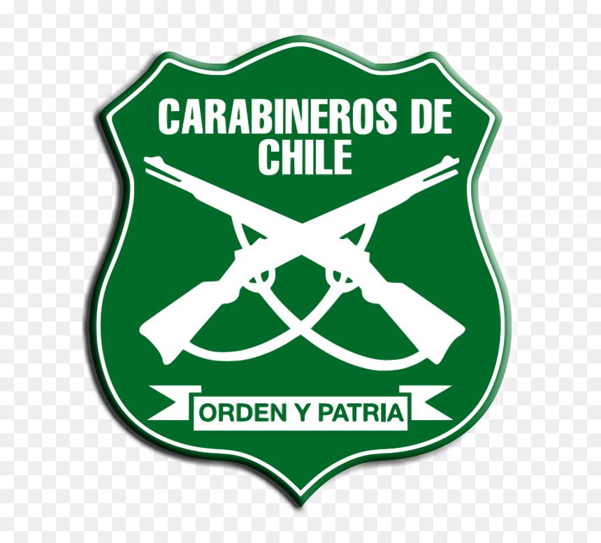 Chile Logo - Insignia Carabineros De Chile, HD Png Download
