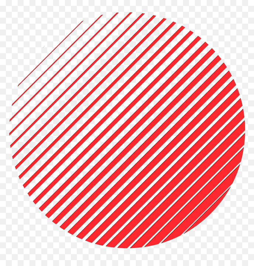 Ftestickers Geometricshapes Lines Circle Gradient Red - Aesthetic White Circle Png, Transparent Png