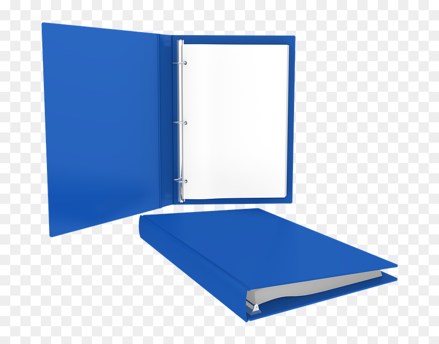 Isolated, Paper, Book, Blue, 3d, Textbook, Mockup - Libro Azul De Texto, HD Png Download