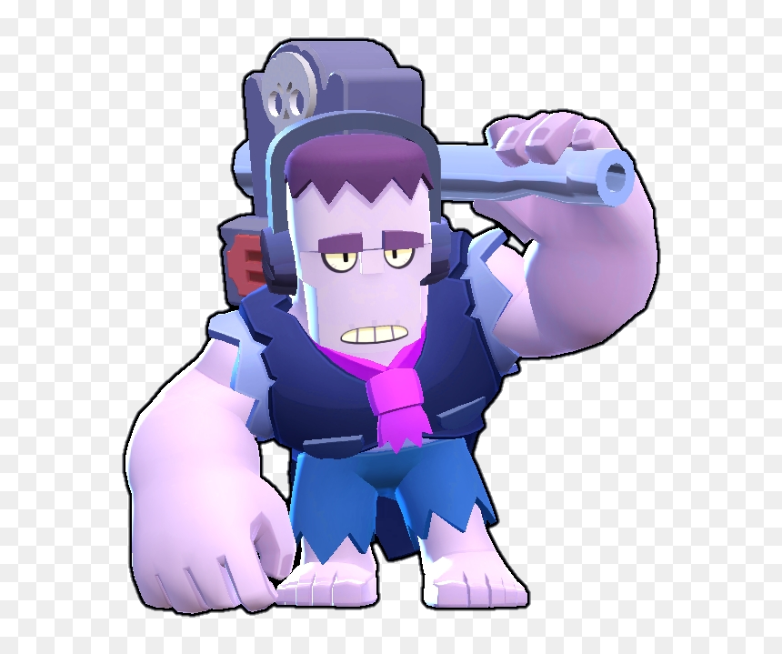 Brawl Stars Wiki - Frank Brawl Stars, HD Png Download